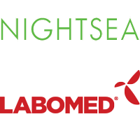 Nightsea logo and Labomed logo